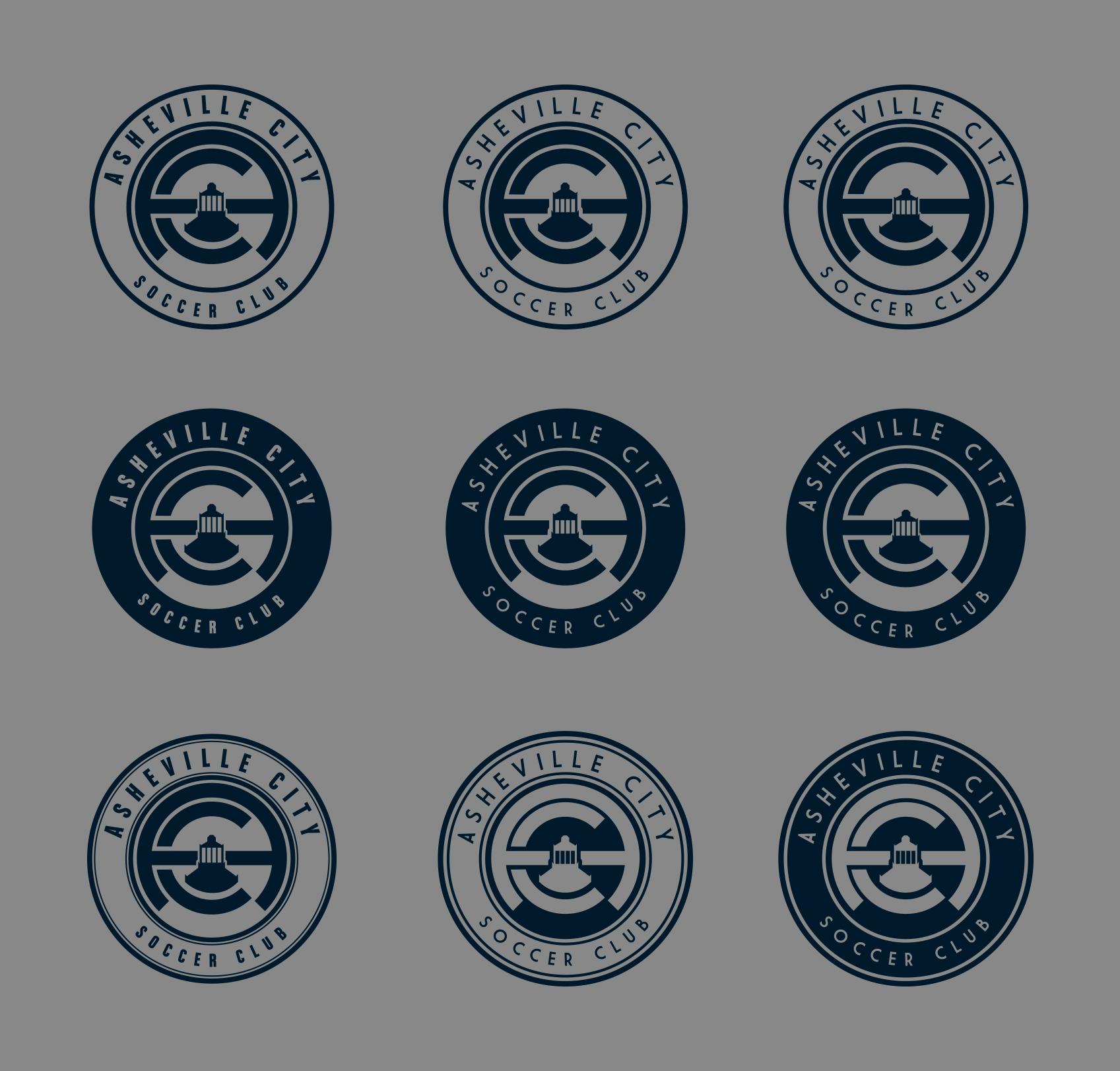 Even Tighter Ideas - Logo Design for Asheville City Soccer Club