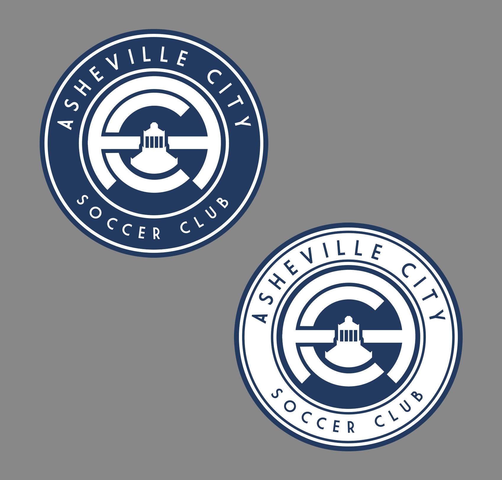 Final Logo Design for Asheville City Soccer Club