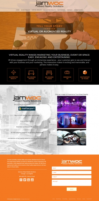 Web Design - JAMWOC Chicago