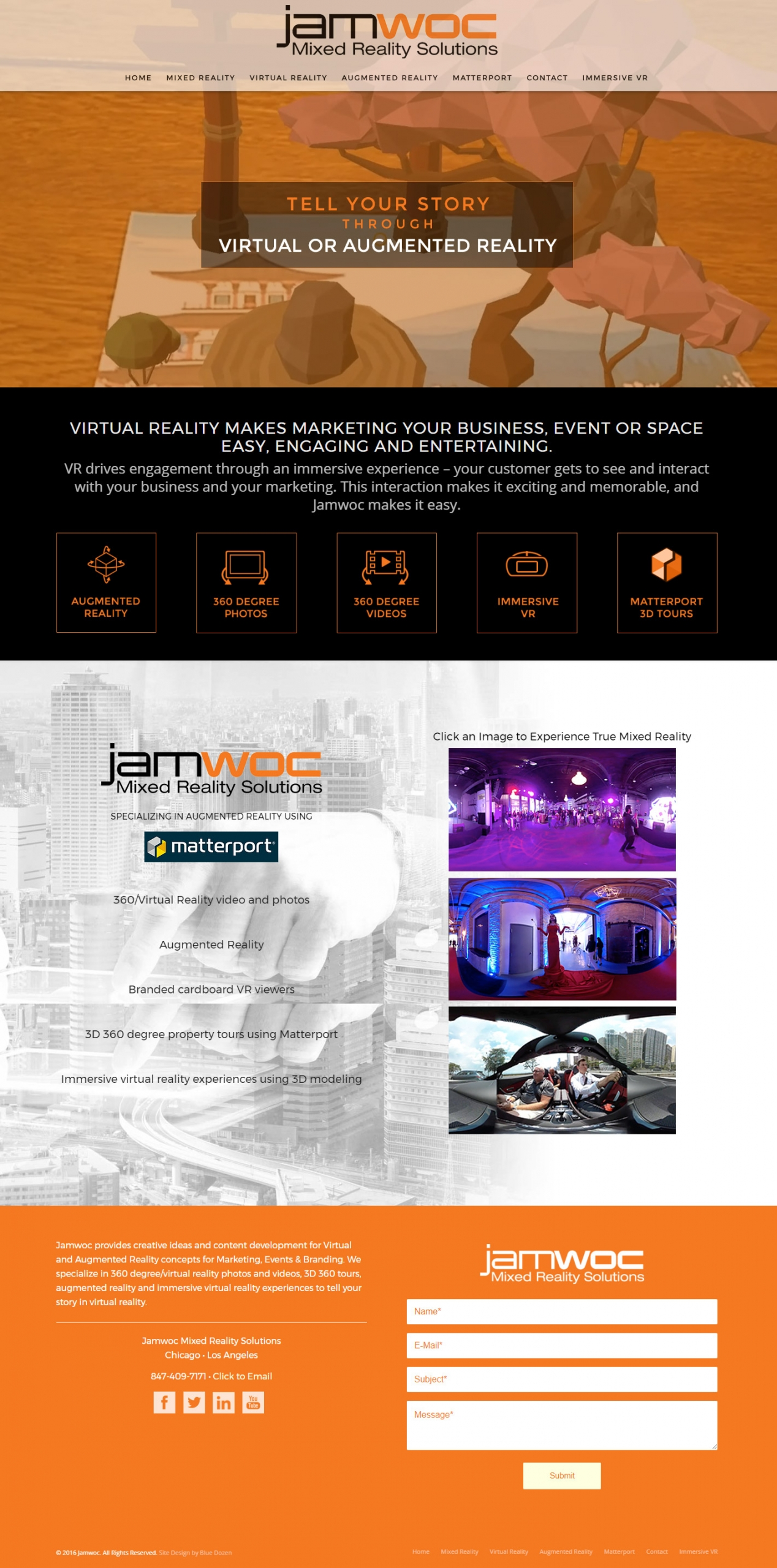 Web Design - JAMWOC Chicago