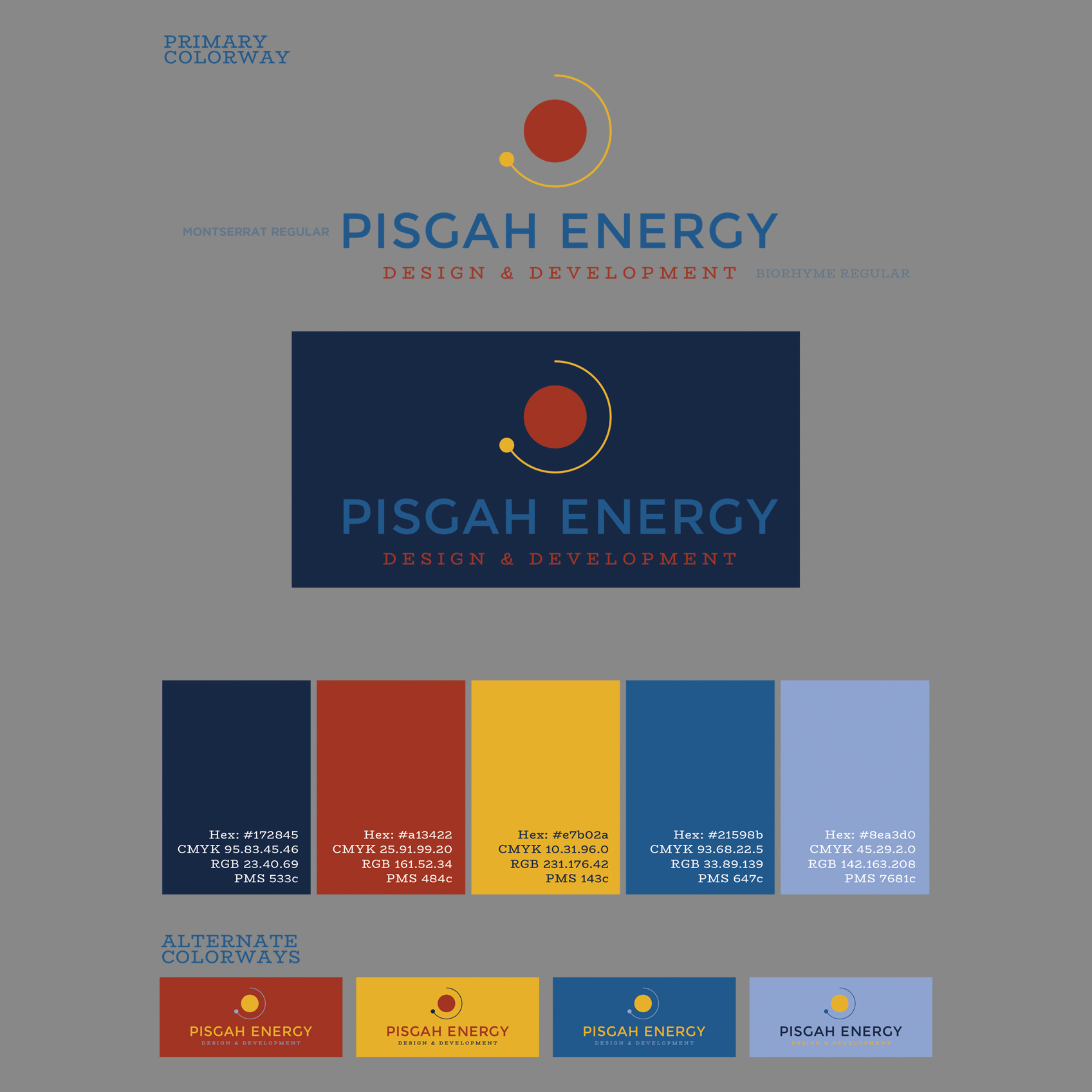 Logo Design Guidelines - Pisgah Energy