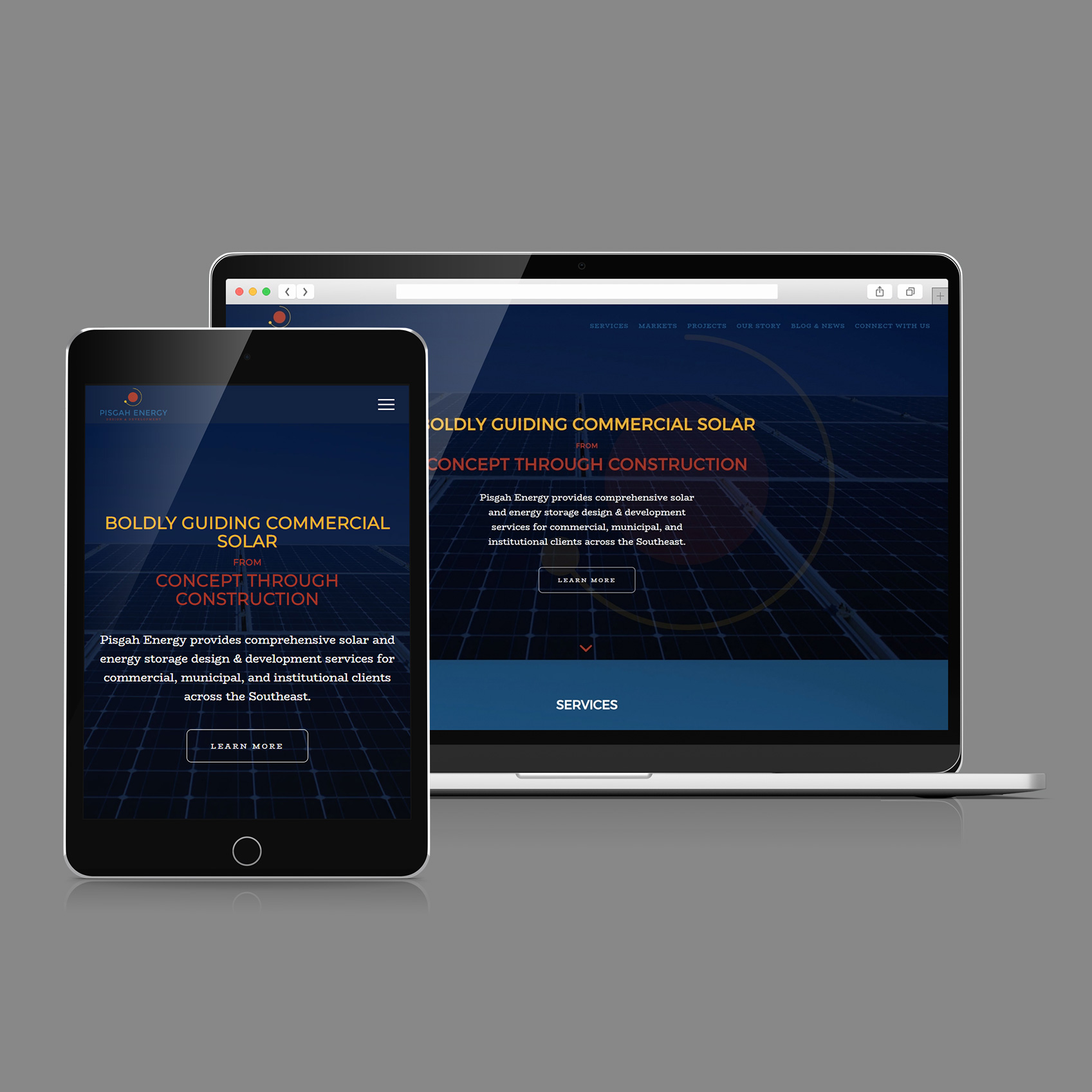 Web Design & Development - Pisgah Energy