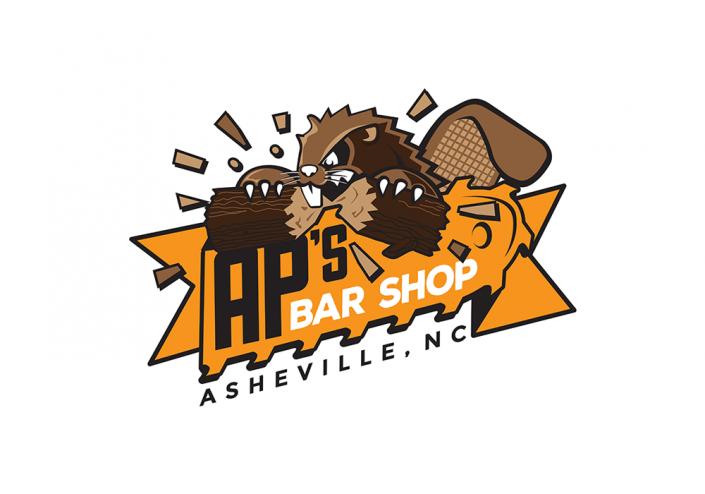 AP'S Bar Shop Logo Design