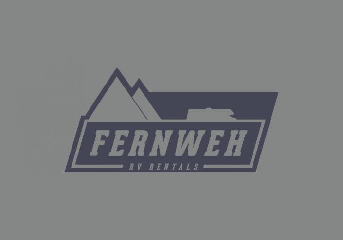 Fernweh RV Rentals Logo Design