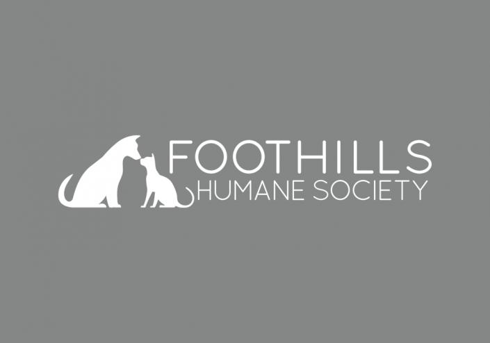 Foothills Humane Society Logo Design