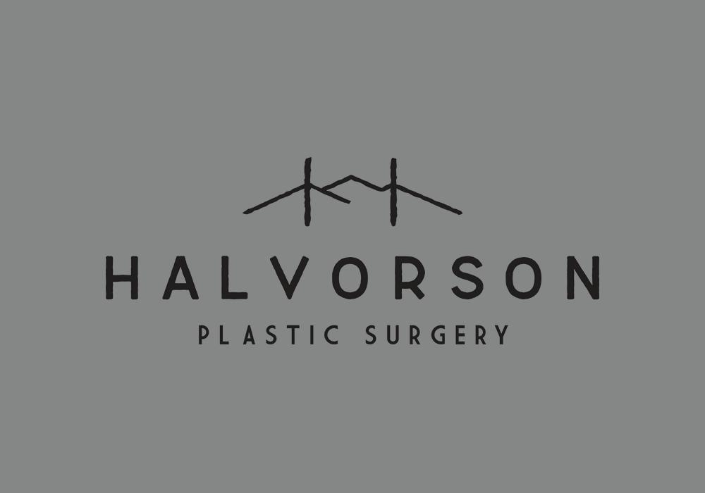 Halvorson Plastic Surgery Logo Design